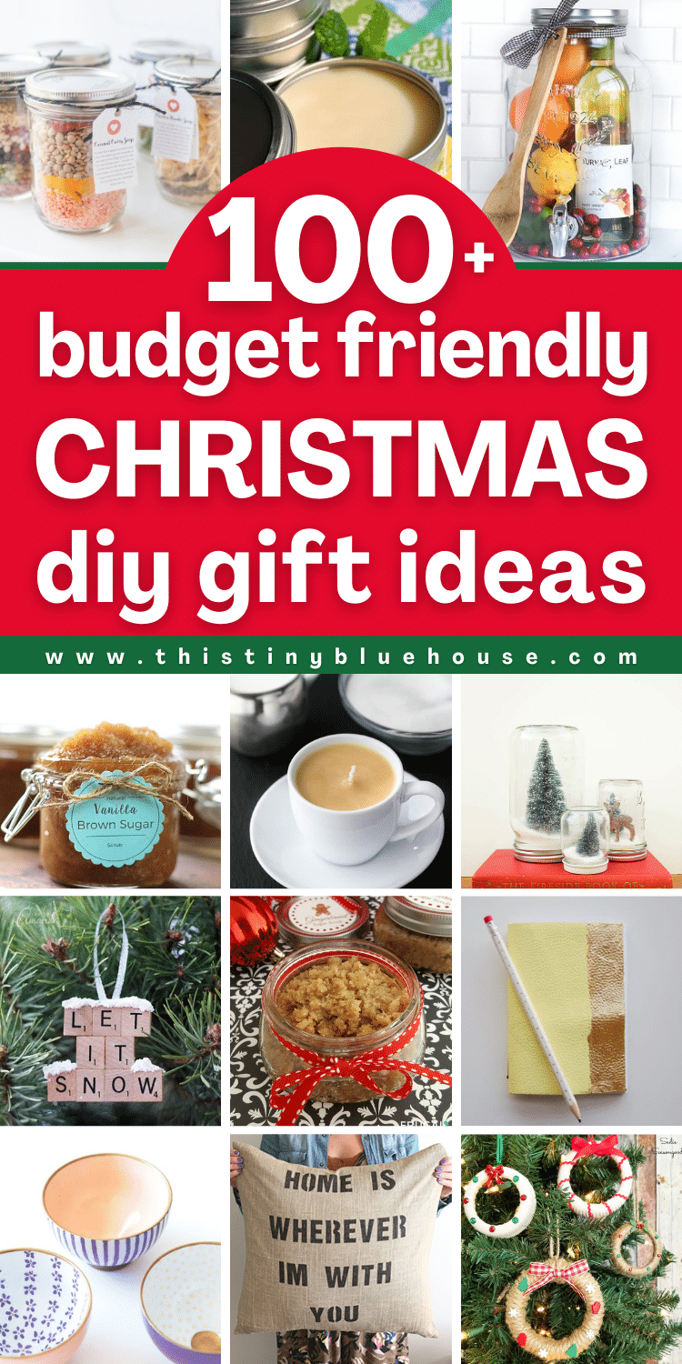 100 cheap and easy DIY Christmas gift ideas