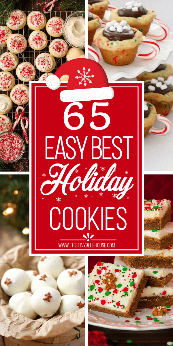 65 Best Delicious Holiday Cookie Recipes This Tiny Blue House