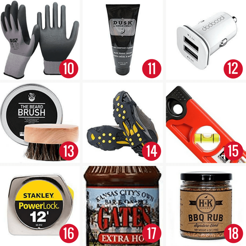 75+ awesome 10$ or less stocking stuffers for the whole family. #christmas #stockingstuffers #giftideas #giftsforhim #giftsforher #giftsforkids #christmaspresents #holidayshopping