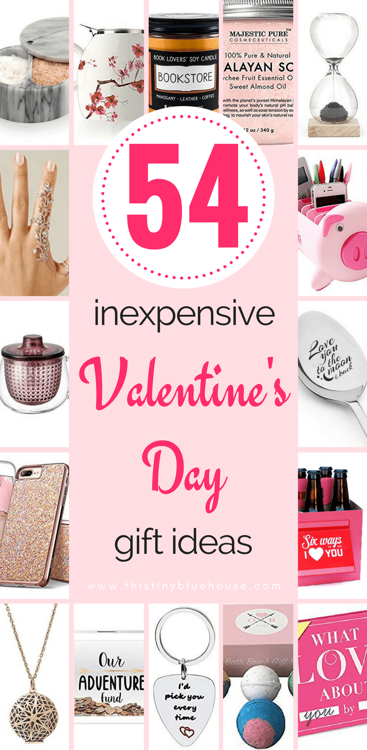 50+ Inexpensive Valentine's Day Gifts for everyone in the family #gifts #giftguide #valentinesday #vday #love #giftsforhim #giftsforher #giftsforkids #frugalliving #cheapgifts #cheapgiftguides