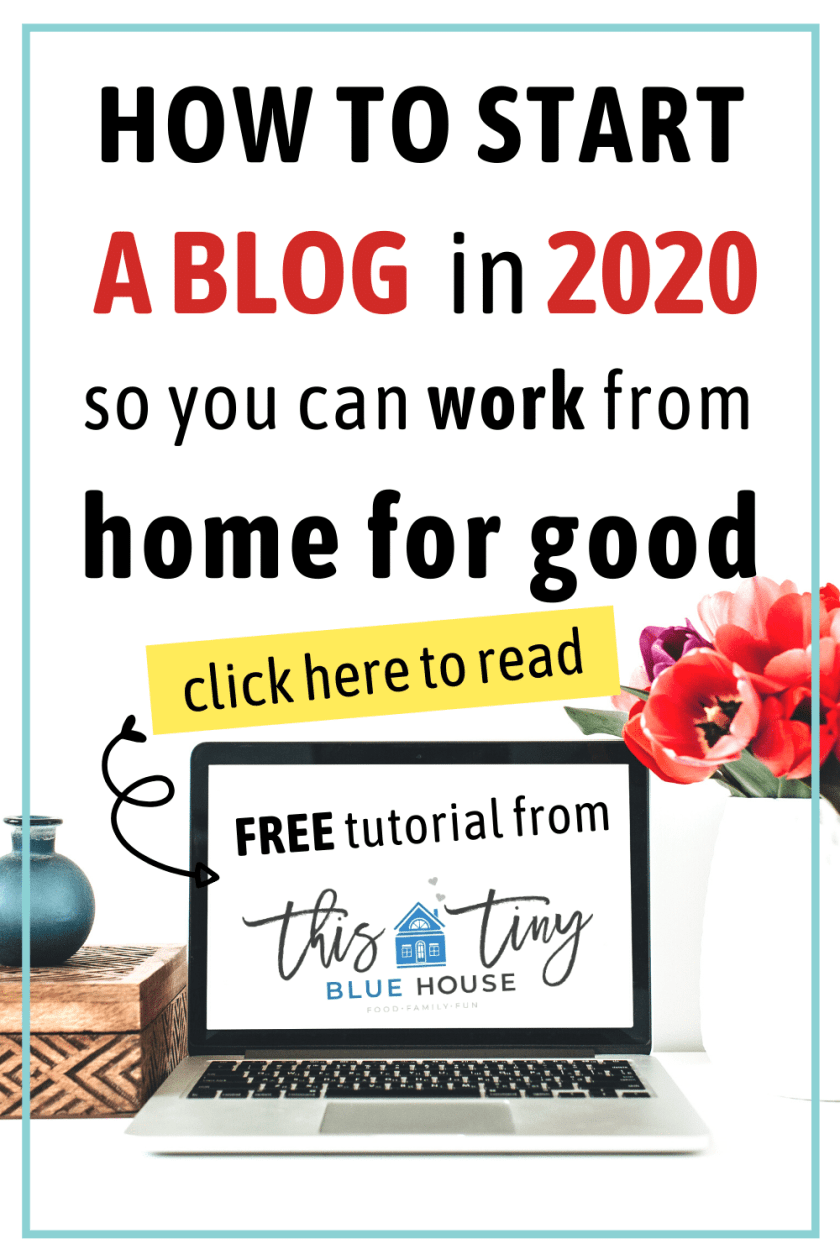 How to start a blog in 2020 so you can work from home for good given the uncertainty in the world.