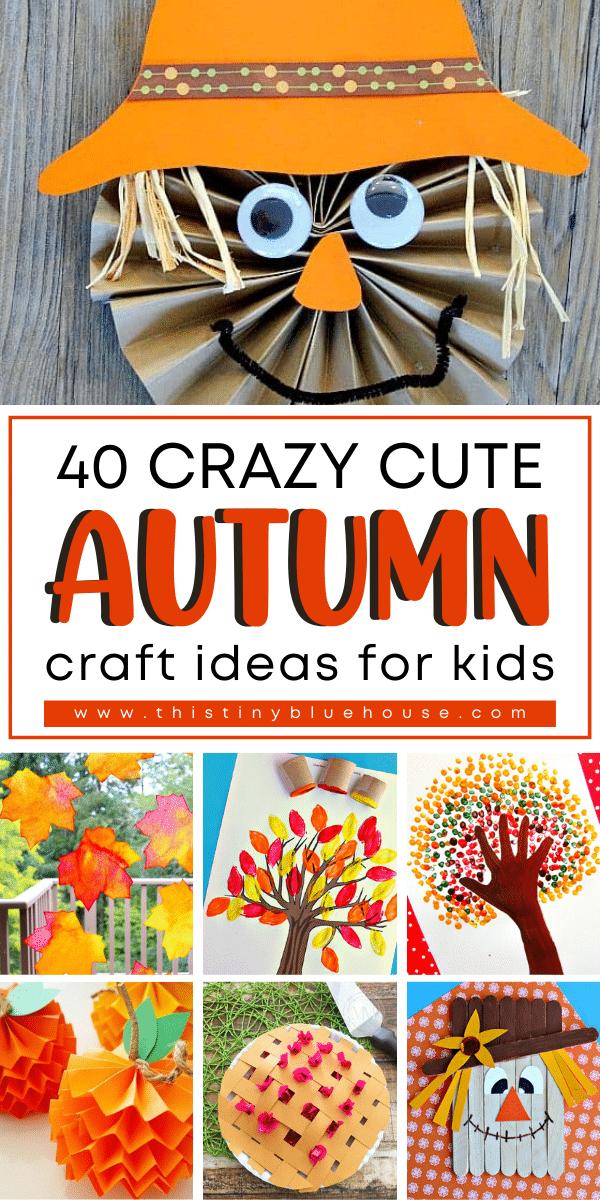 40 Crazy Cute Autumn Craft Ideas For Kids