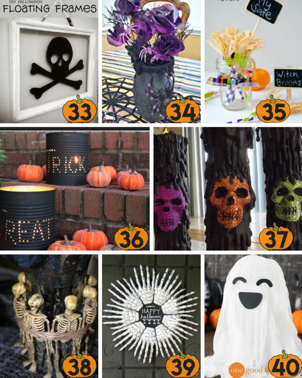 Best 40 Diy Dollar Store Halloween Decoration Ideas This Tiny Blue