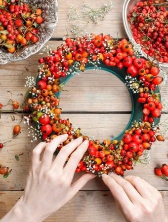 50 Best Cheap Fall Wreath Ideas