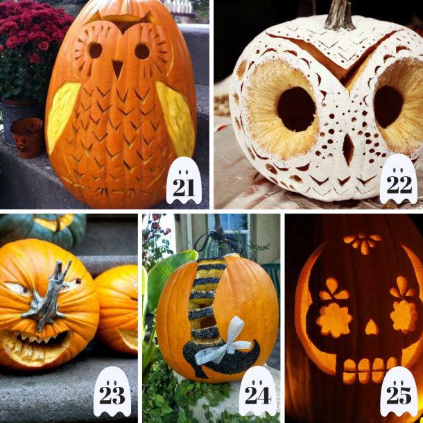 50 creative pumpkin carving ideas this tiny blue house