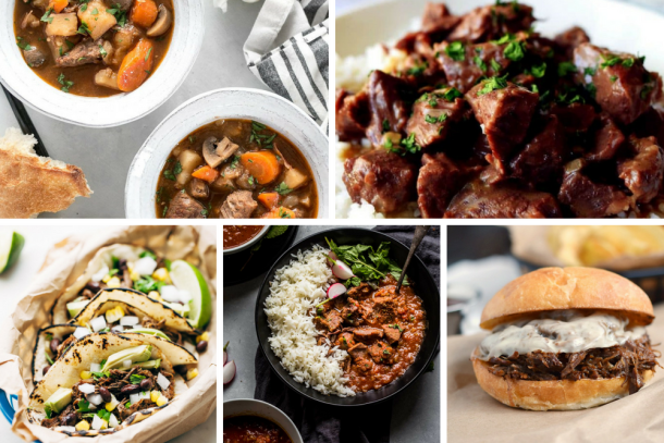 The ultimate collection of 100+ super delicious instant pot meals that are perfect for fall and winter. Chicken, beef, fish, pork & veg options included. #instantpot #instantpotrecipes #instantpotchickenrecipes #instantpotbeefrecipes #instantpotporkrecipes #instantpotfishrecipes #instantpotvegetarianrecipes