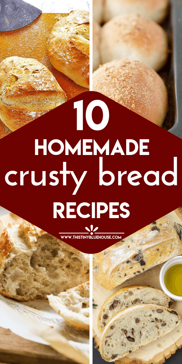 Looking for the ultimate easy crusty bread recipe? Here are 10 Easy Crusty Bread Recipes that are easy to make and a wonderful compliment to any meal. #breadrecipes #breadrecipeseasy #breadrecipeshomemade #breadrecipesitalian #crustybreadrecipe #crustybreadrecipeeasy #crustybreadrecipedutchoven #crustybreadrecipehomemade #crustybreadreciperolls