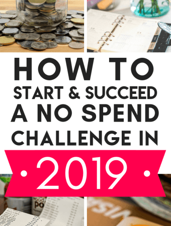 How To Take On A No Spend Challenge in 2019