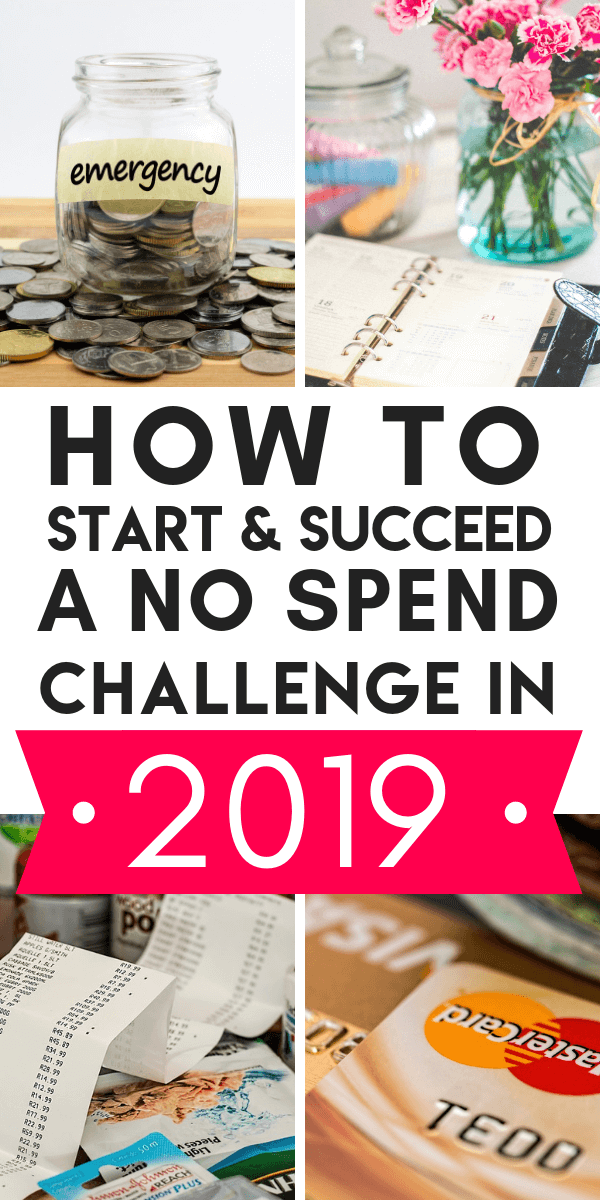 If you're looking to take up a No Spend Challenge in 2019, here's a guide to why they are the BEST decision financially and how to rock your own challenge. #NoSpendChallenge #NoSpendMonth #NoSpendWeekend #NoSpendChallengeRules #NoSpendChallenge30Day #NospendChallengeTips #NoSpendChallenge2019