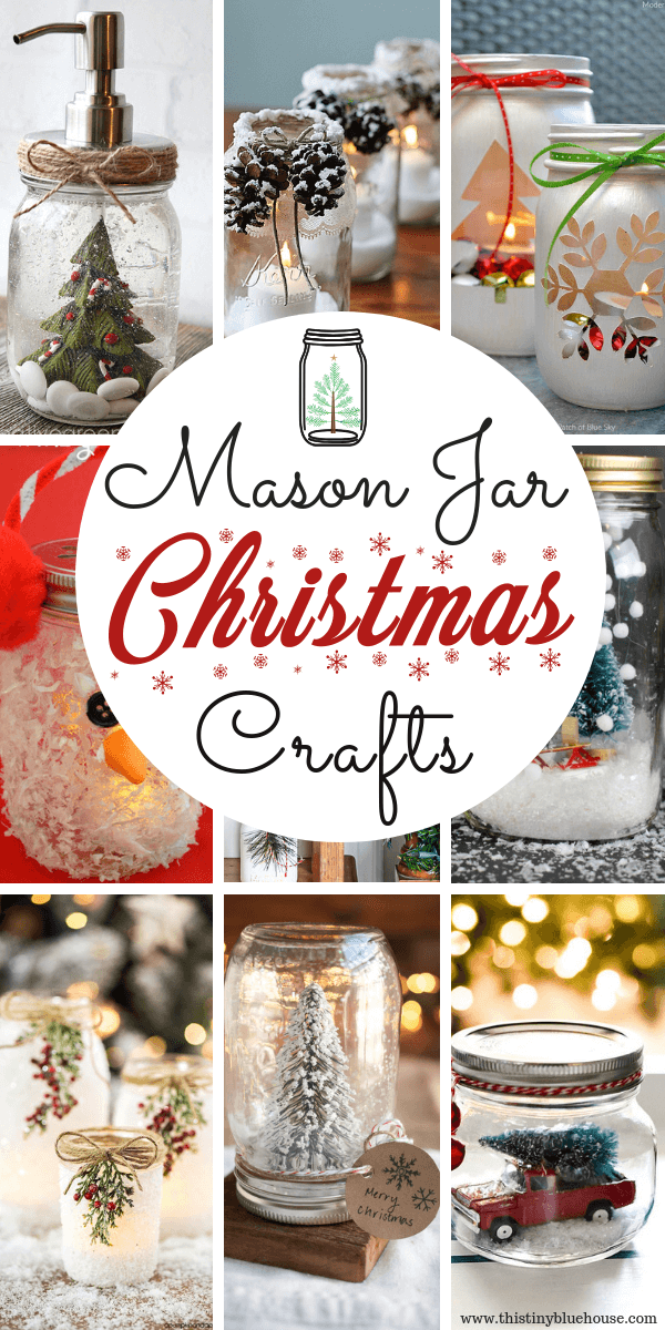 15 Best Easy Mason Jar Christmas Craft Ideas This Tiny