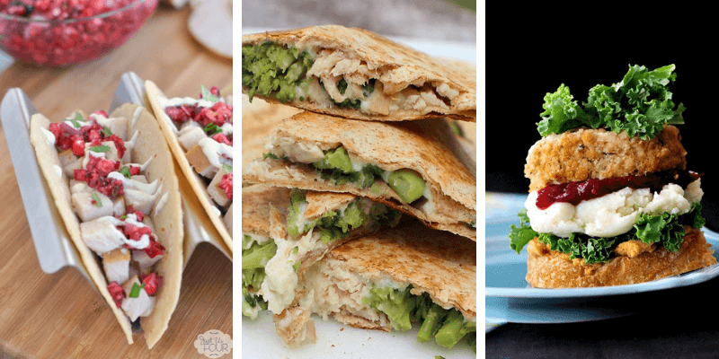Here are 50 delicious ways to use up Thanksgiving leftovers, reduce food waste and stretch those leftovers into delicious meal ideas that are family and kid friendly. #thanksgivingleftovers #thanksgivingleftoverrecipes #thanksgivingleftoverrecipeseasy #thanksgivingleftoverrecipesfamilies