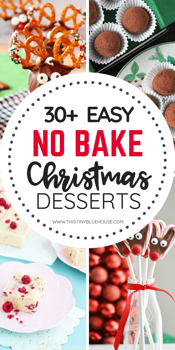 30 Delicious No Bake Christmas Cookies And Desserts This Tiny
