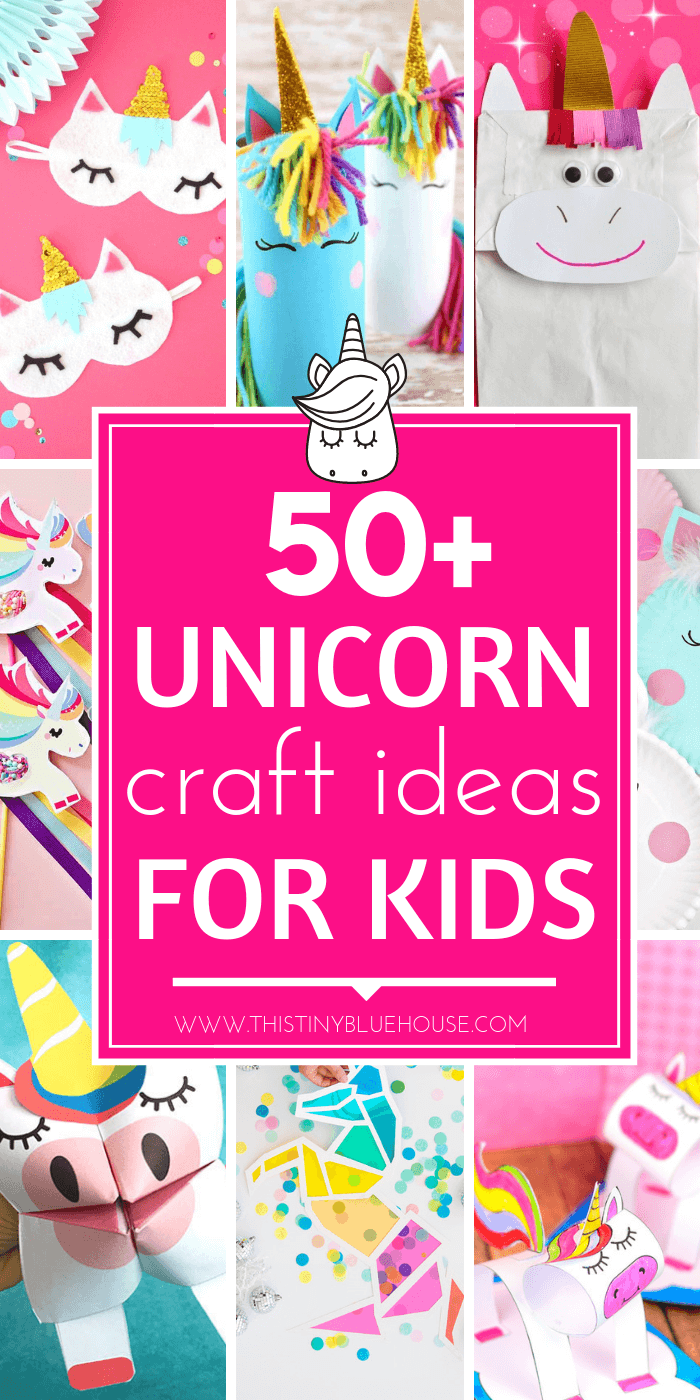 Gorgeous Easy Makeup Tutorials For Brown Eyes: 60 Gorgeous & Easy Unicorn Crafts For Kids