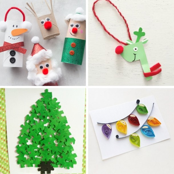 100 easy festive christmas crafts for kids