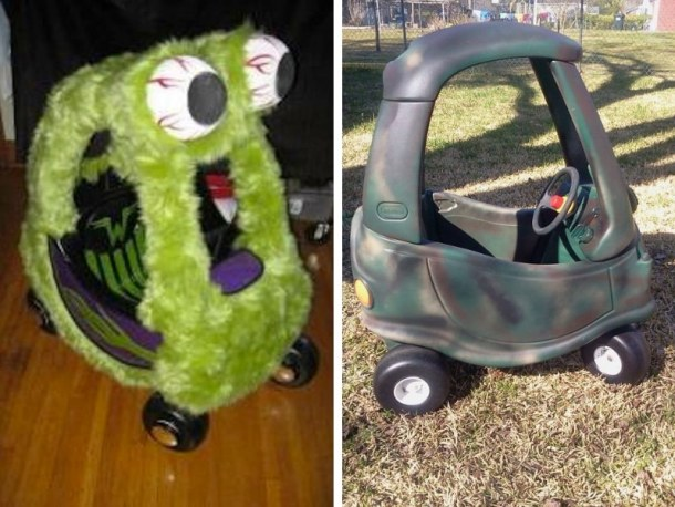 Looking to pimp out your kids faded Cozy Coupe? Here are 60+ Genius Cozy Coupe Makeover Ideas that are guaranteed to make your coupe one of a kind! #cozycoupemakeover #cozycoupemakeoverboys #cozycoupemakeoverforgirls #cozycoupemakeovertutorial #cozycoupemakeoverdiy #cozycoupemakeoverdiy #cozycoupemakeoverideas #upcycletoys #upcycletoysdiy #upcycletoysideas