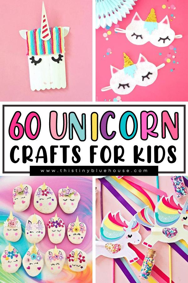 60 Super Fun Unicorn Crafts For Kids
