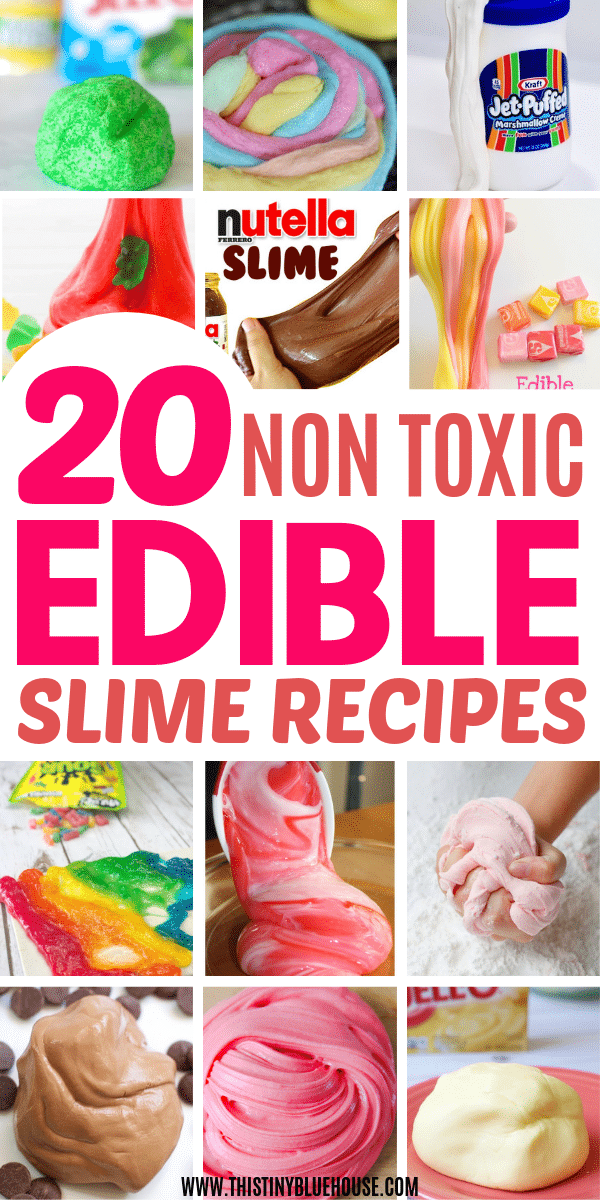 20 Best Edible Slime Recipes You Gotta Make For Your Kids