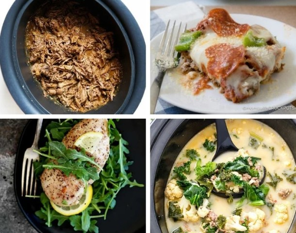 75 Mouthwatering Crock Pot Keto Dinners - This Tiny Blue House