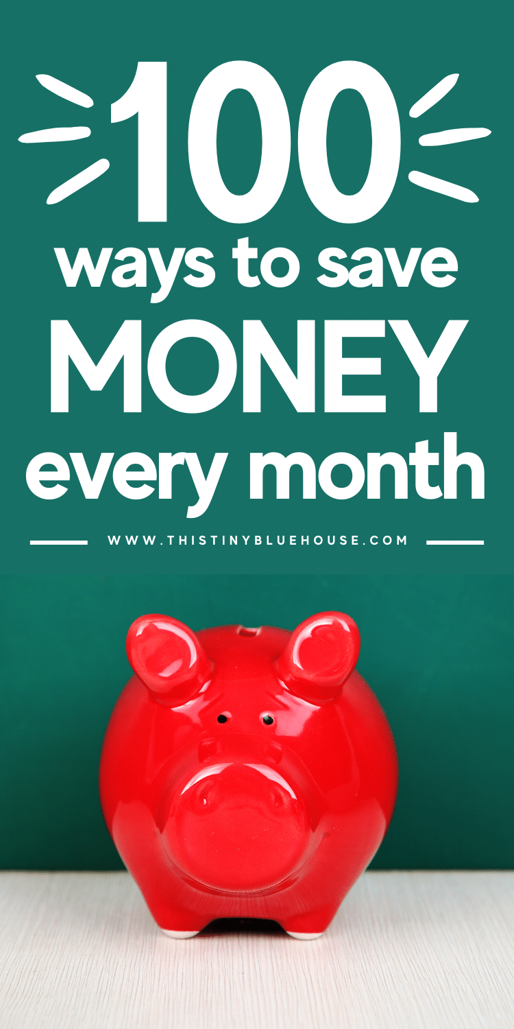 100 Simple Ways To Save More Money