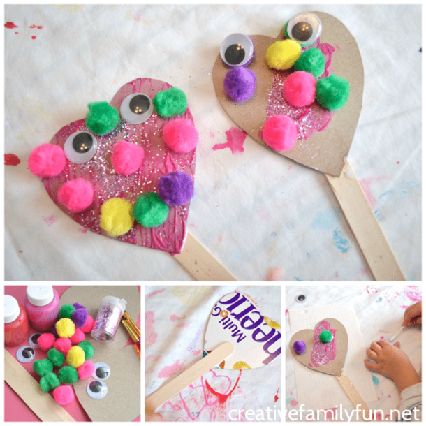 15 Easy Valentines Day Crafts for Kids (Part 2)