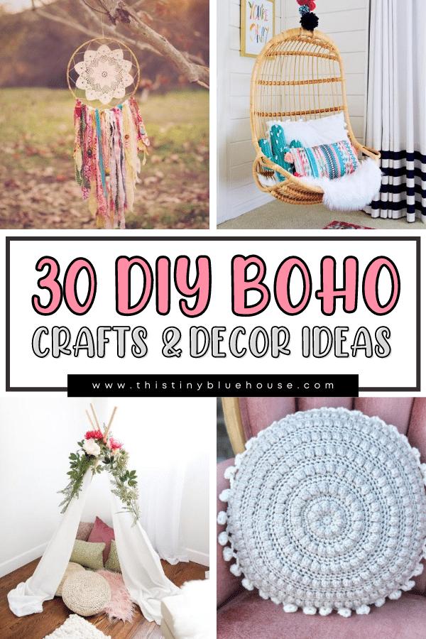 27 Gorgeous Dollar Store Boho Craft Ideas