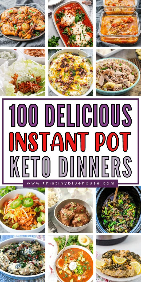 100 Delicious Easy Instant Pot Keto Meals