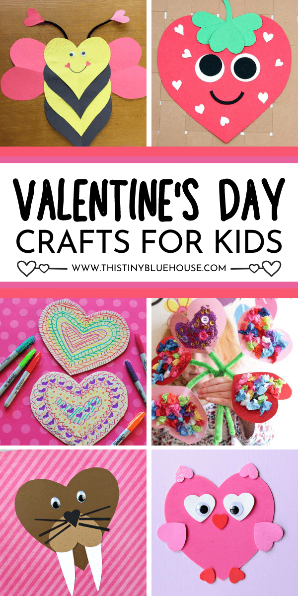 25 Adorable Valentine's Day Crafts For Kids