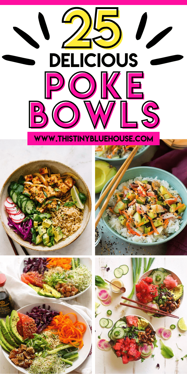 25 Best Simple Poke Bowls You Can Make at Home