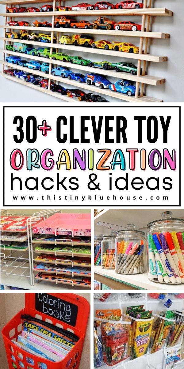 30+ Clever DIY Toy Organization Hacks