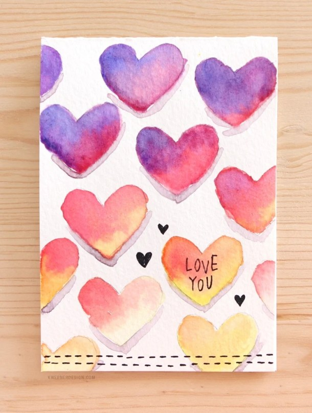 15 Easy DIY Valentines Day Cards