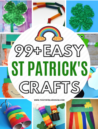 Help your kids get excited about St Patty's day with these adorable and creative St Patrick's Day Crafts For Kids. With 100 crafts to choose from you're guaranteed to have hours and hours of crafting fun. #stpatricksdaycrafts #stpatricksdaycraftsforkids #stpatricksdaycraftsfortoddlers #DIYstpatricksdaycrafts #stpattysdaycrafts