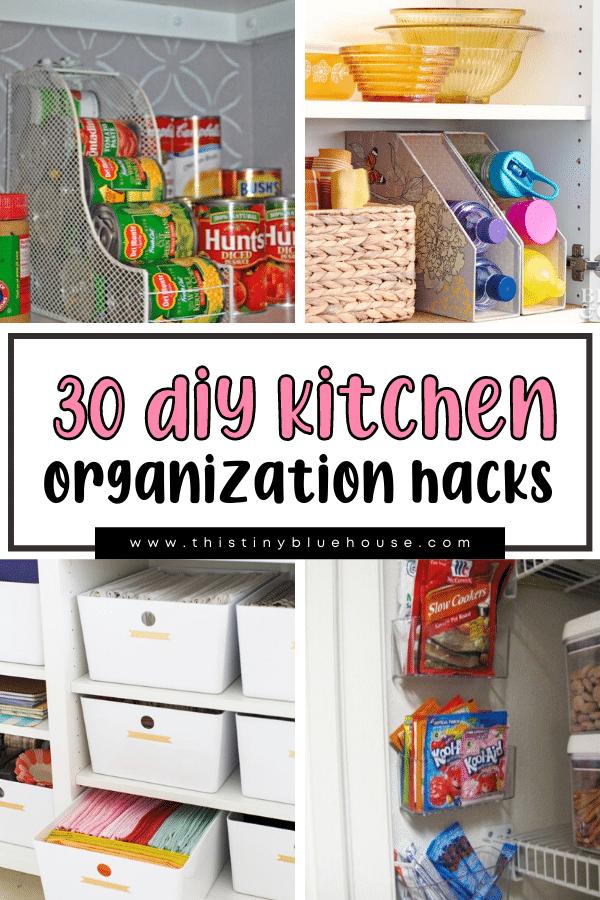30+ Beyond Genius DIY Kitchen Organization Hacks You Need In Your Life