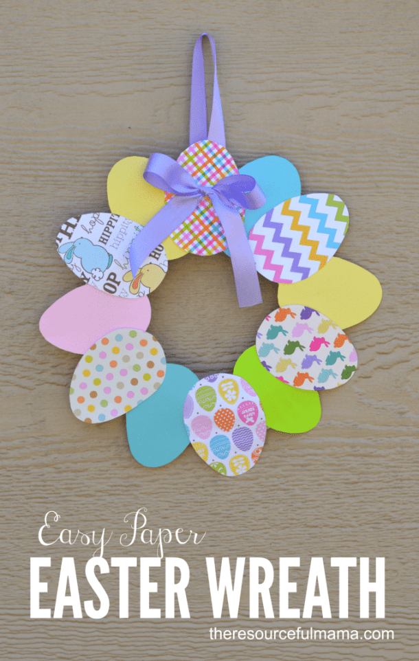 15 Cute and Fun Easter Crafts for Kids (Part 1)