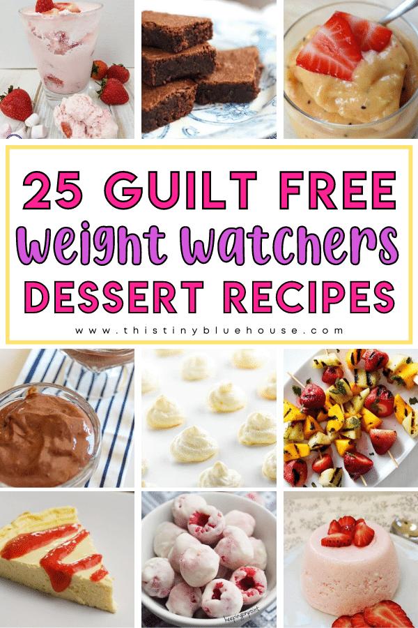 25 Guilt Free Zero Point Weight Watchers Dessert Recipe