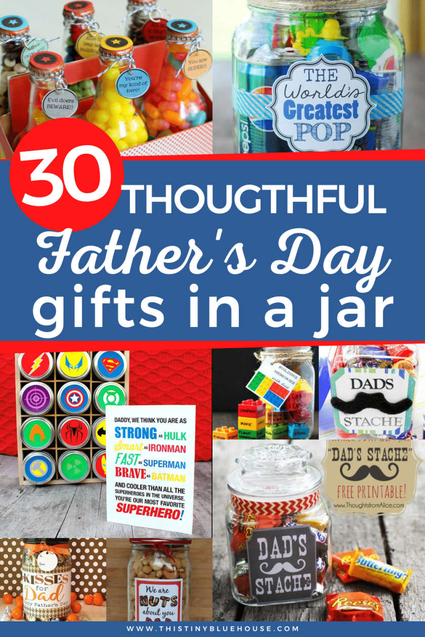 30 Popular DIY Father's Day Gifts In A Jar