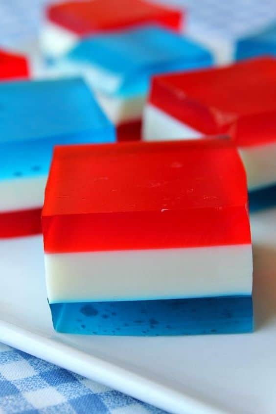 no bake dessert for the 4th of July