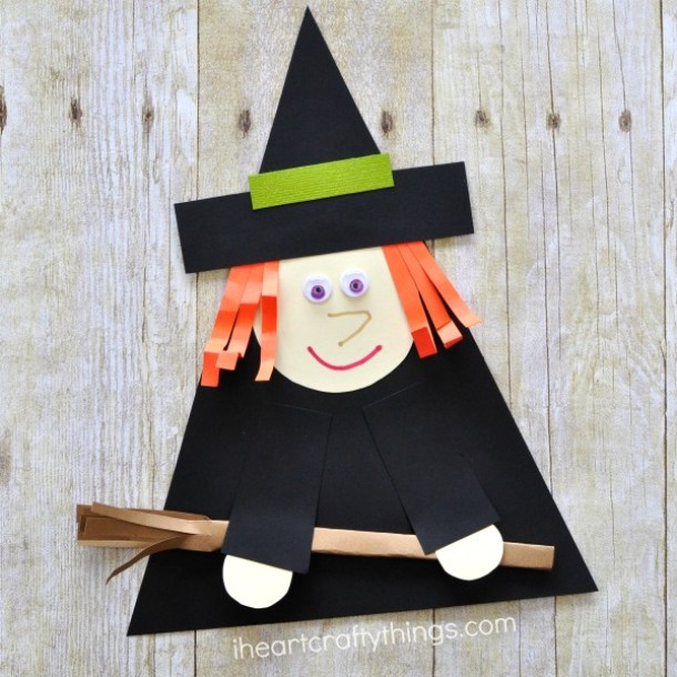 15 Simple but Not Scary Halloween Crafts for Kids (Part 1)