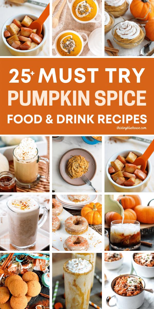 27 Must Try (Sweet & Savory) Best Pumpkin Spice Recipes