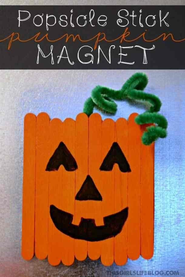 15 Cute and Easy Halloween Pumpkin Crafts for Kids (Part 1)