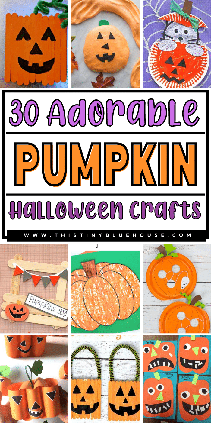 30 Adorable Non Scary Pumpkin Crafts For Kids