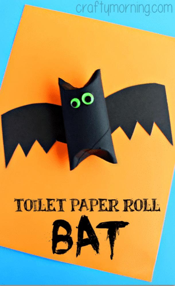15 Easy Halloween Bat Crafts for Kids