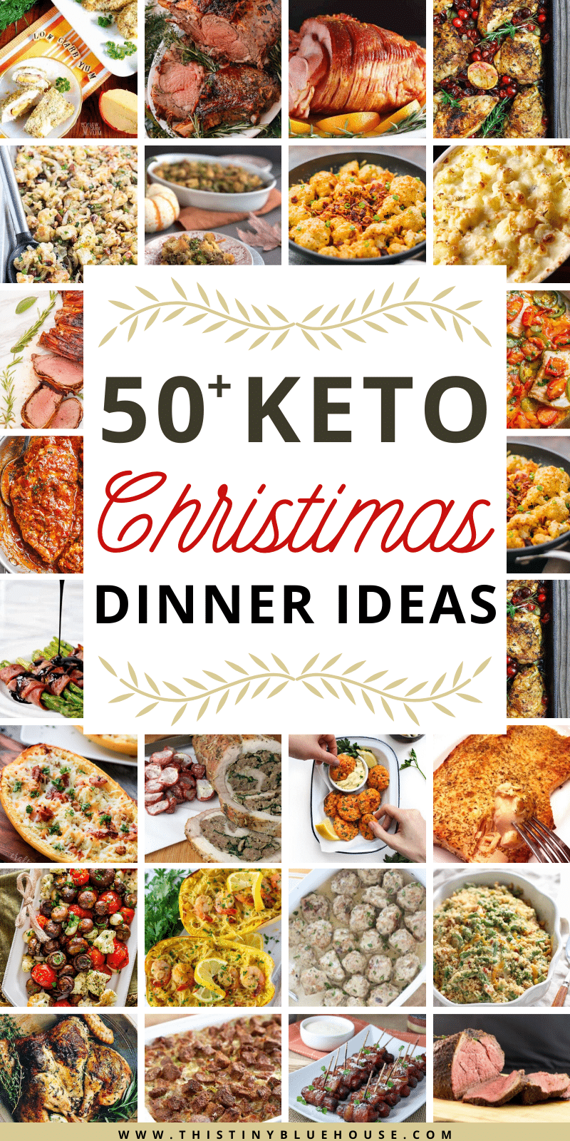 here are 50+ delicious Christmas dinner ideas that will make sticking to Keto during the holiday a breeze. Easy, delicious and Keto friendly these recipes are a guaranteed hit! #ketodinnerideas #ketochristmasdinner #ketoholidaydinner #ketothanksgivingdinner #ketochristmasdinnerideas #ketochristmasmenu #ketochristmasmenuideas #lowcarbdinnerideas #lowcarbchristmasdinnerideas