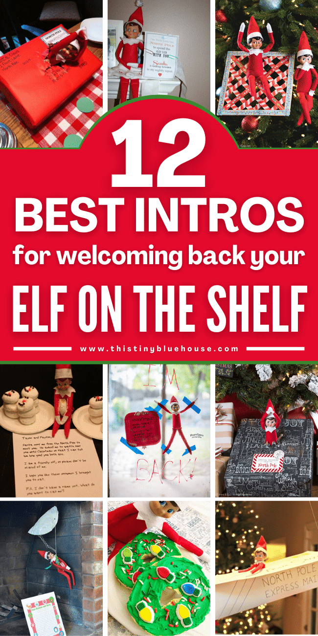 12 Best Intros For Welcoming Back Your Elf On The Shelf