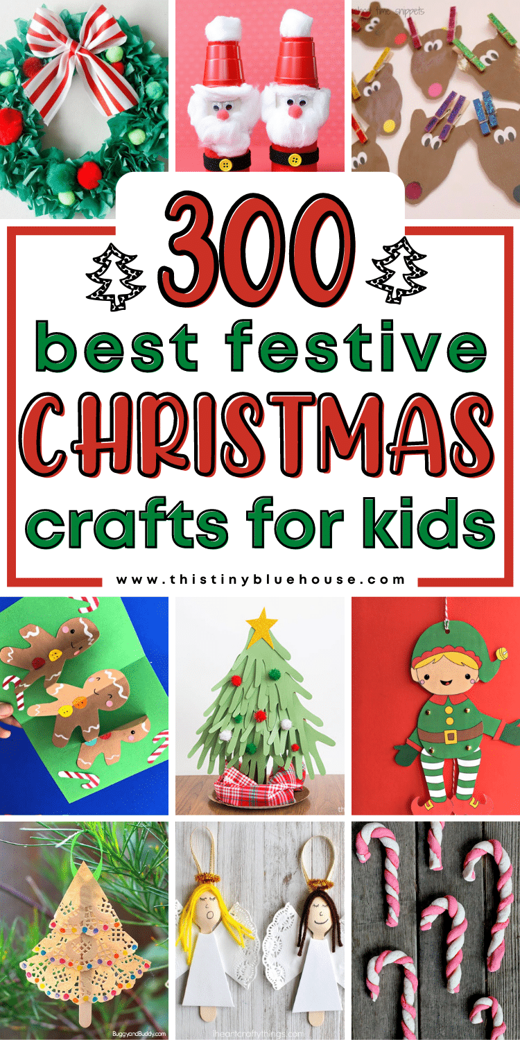 fun festive Christmas crafts for kids