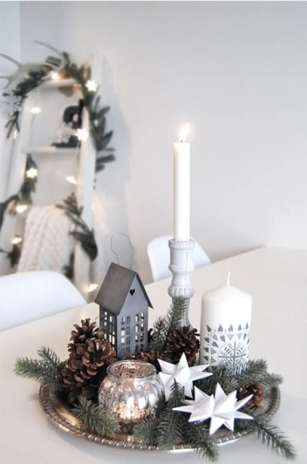 15 Best DIY Christmas Centerpieces (Part 1)