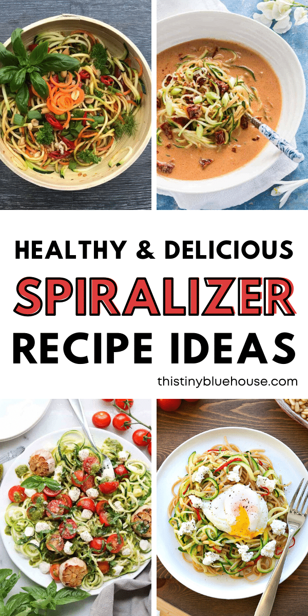 7 Healthy Veggie Spiralizer Recipes You Gotta Try