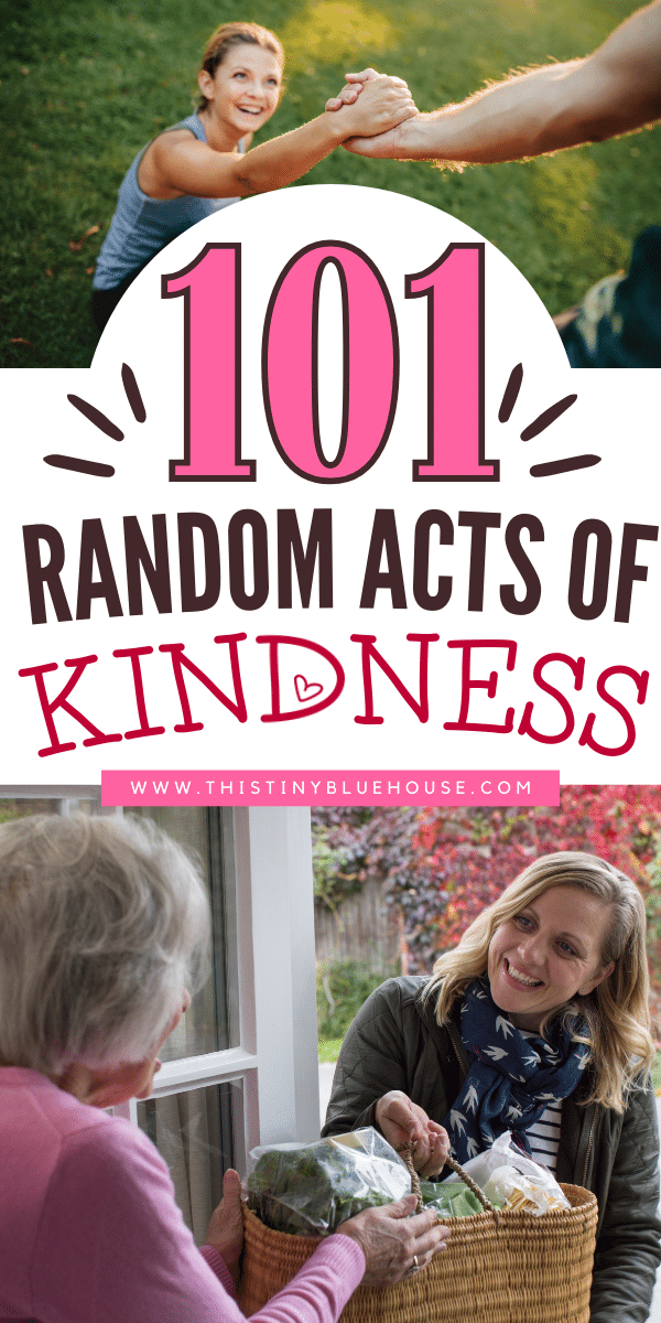 101 Random Acts Of Kindness