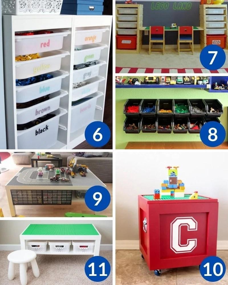 Sanity-Saving DIY LEGO Storage Ideas Every Parent Needs To Know