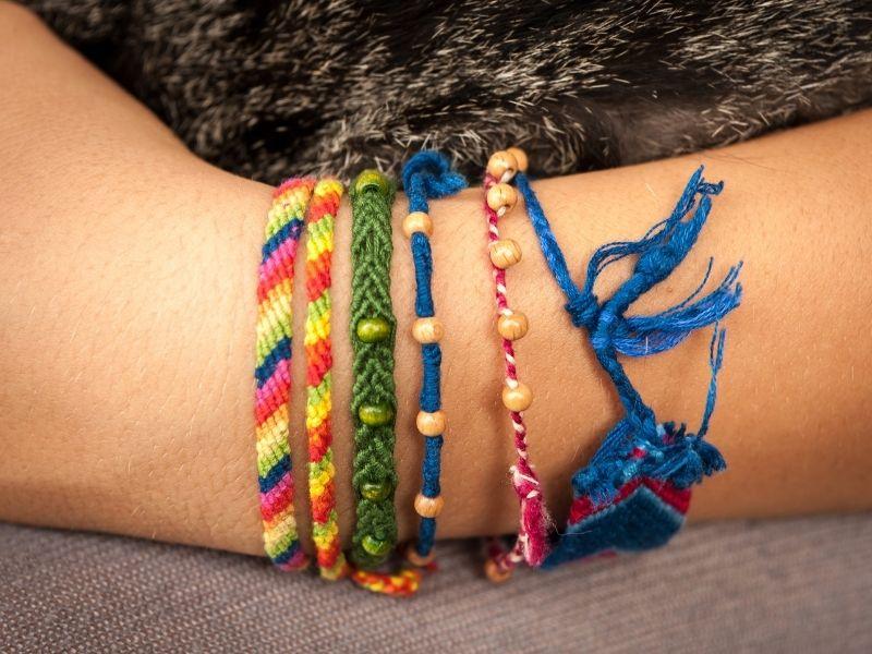 friendship bracelets pattern beginner