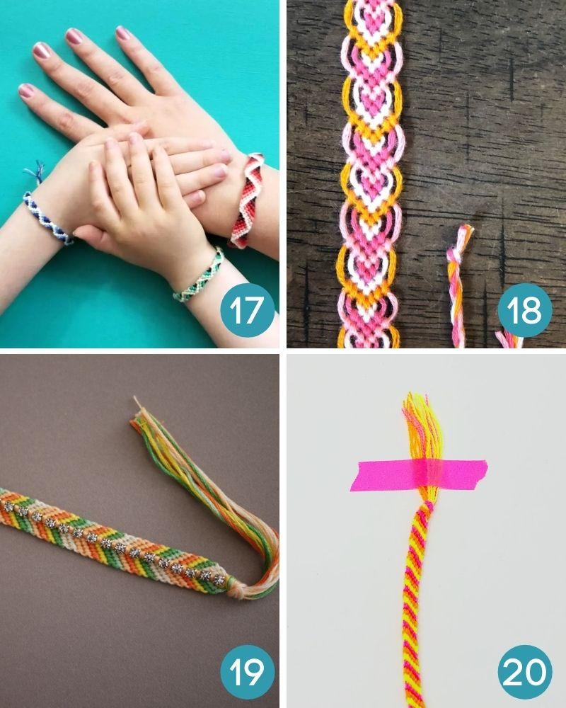 friendship bracelet pattern chevron